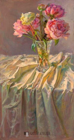 Laatst bloeiende pioenen - Keimpe van der Kooi