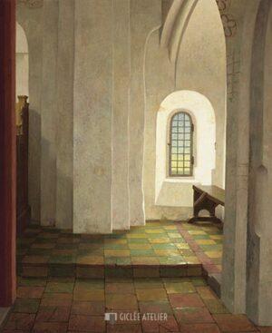 Onder het orgel in de Mariakerk te Krewerd - Henk Helmantel