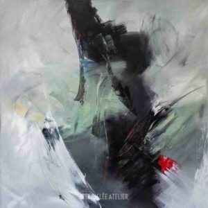 Blackpoint I - Christiane Middendorf - gicleekunst