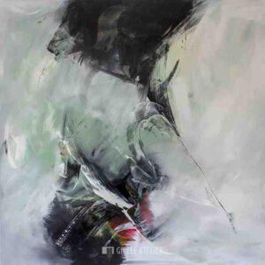 Blackpoint II - Christiane Middendorf - gicleekunst