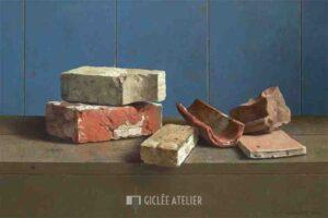Bouwfragmenten van Klooster Aduard - Henk Helmantel