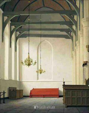 De zuidbeuk van de St. Nicolaaskerk in Monnickendam - Henk Helmantel