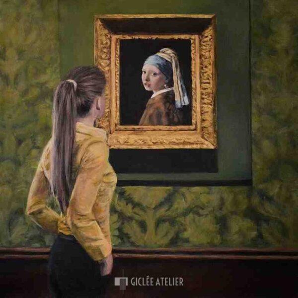 Watching Girl with the Pearl Earring - Escha van den Bogerd