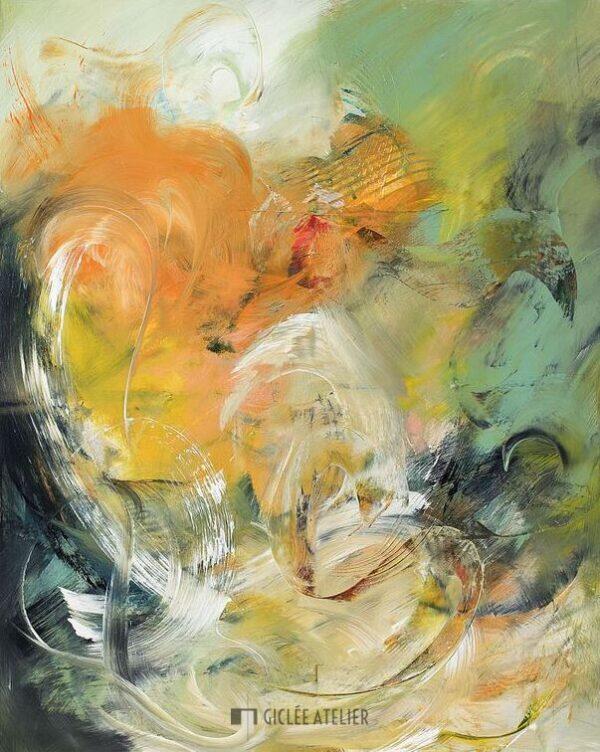 Bloemleven - Christiane Middendorf - gicleekunst