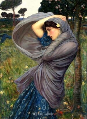 Boreas - John William Waterhouse - gicleekunst