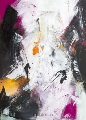 Moody Moods I - Christiane Middendorf - gicleekunst