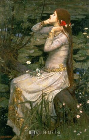 Ophelia - John William Waterhouse - gicleekunst