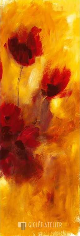 Klankkleur van bloemen I - Christa Ohland - gicleekunst