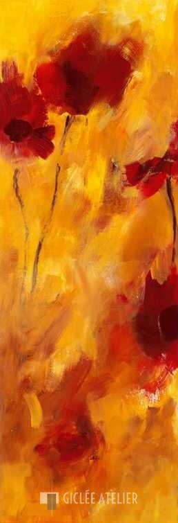 Klankkleur van bloemen II - Christa Ohland - gicleekunst