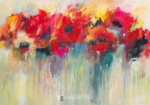 Kleurrijk Timbre I - Christa Ohland - gicleekunst