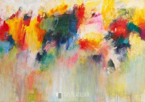 Kleurrijk Timbre II - Christa Ohland - gicleekunst