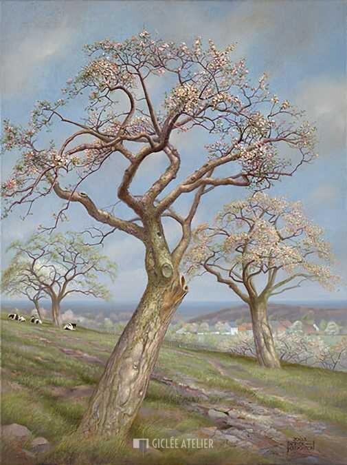 Maasvallei - Patrick Creyghton - gicleekunst