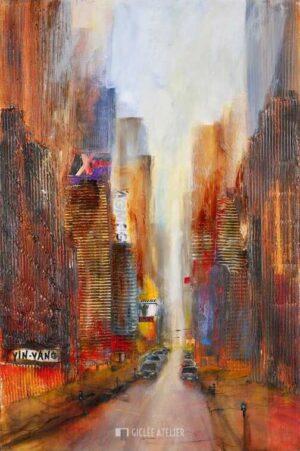 New York I - Bernd Klimmer - gicleekunst
