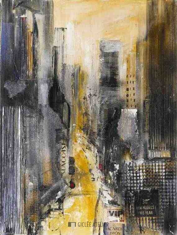 New York II - Bernd Klimmer - gicleekunst