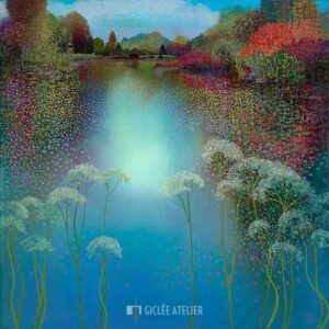 The Park Spring Reflection - Ton Dubbeldam - gicleekunst
