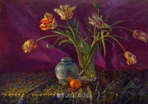 Tulpen - Keimpe van der Kooi - giclee kunst