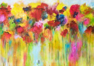 Zomerbloemen - Christa Ohland - gicleekunst