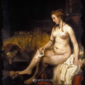 Bathseba - Rembrandt van Rijn - gicleekunst