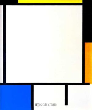 Compositie - Piet Mondriaan - gicleekunst
