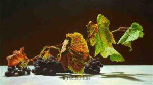 Druiven - Jan van 't Hoff - gicleekunst