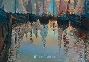Floating Ratatouille - Ton Dubbeldam - gicleekunst