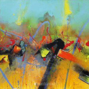 Uprising - Alfred Hansl - gicleekunst