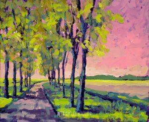 Laantje - Theo Onnes - gicleekunst