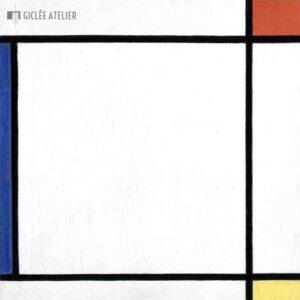 Compositie III met rood, geel en blauw - Piet Mondriaan - gicleekunst