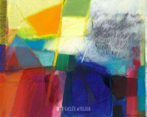 Kleurrijk Landschap - Heleen van der Tuin - gicleekunst