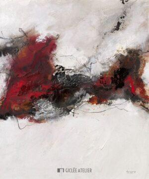 Rosso V - Isolde Folger - gicleekunst